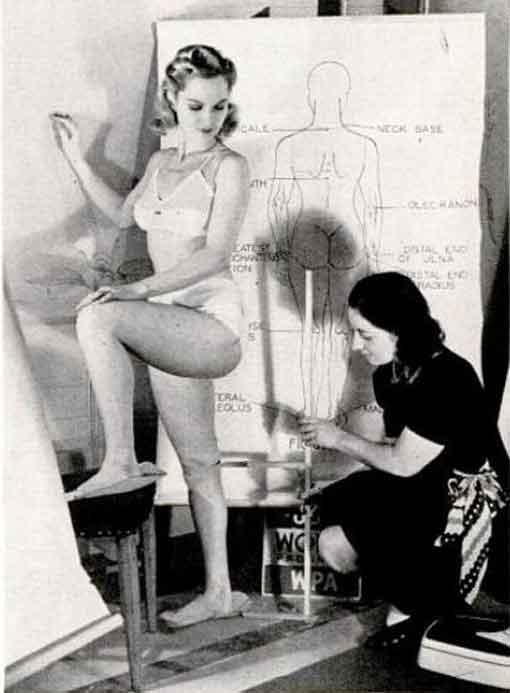 100 000 Us Women Measured For 1940s Dress Sizes Glamour Daze