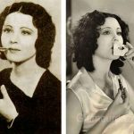 1930 Beauty Shop – Rouging the Lips