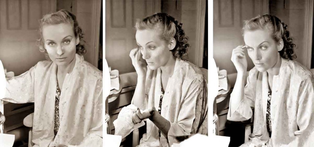 1930s-Beauty-Shop---Carole-Lombard-does-her-makeup