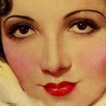 1930s Beauty Tips – Claudette Colbert in 1933