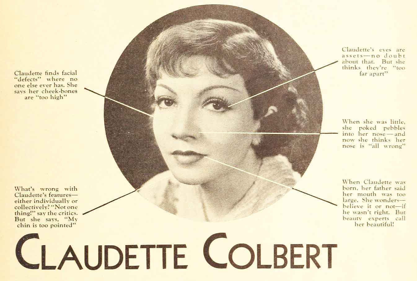 Forum on this topic: Karyn Bryant, claudette-colbert/
