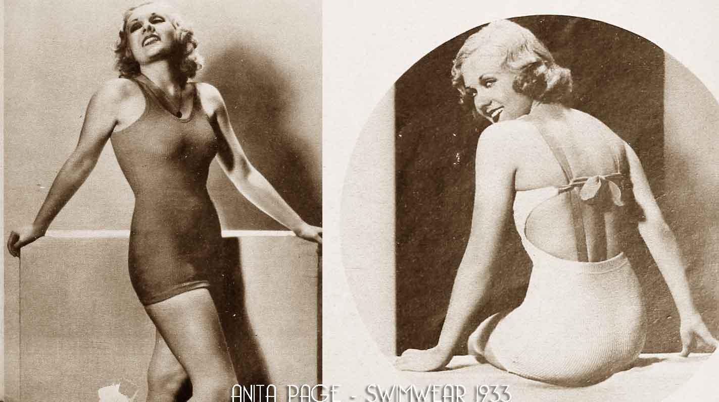 0e444eae82 1930's Swimwear of the Stars !   Glamour Daze