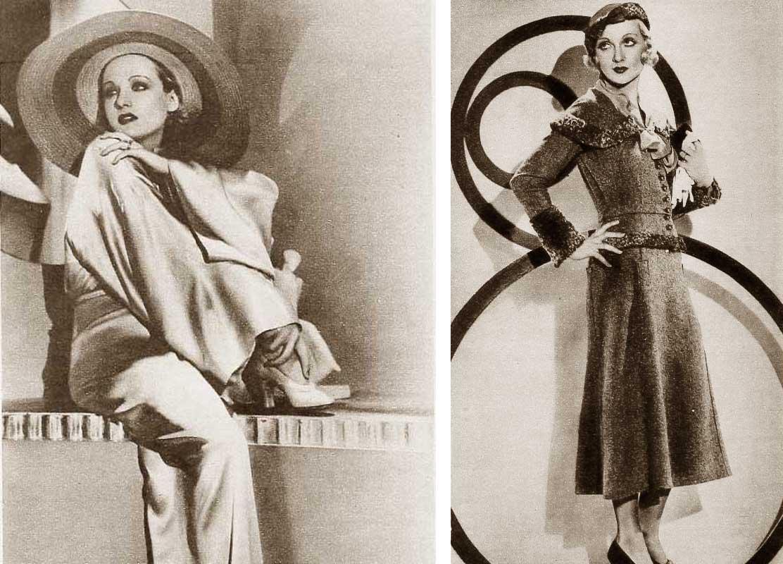 1930s Fashion Carole Lombards Wardrobe In June 1932