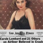 The Day Carole Lombard Died