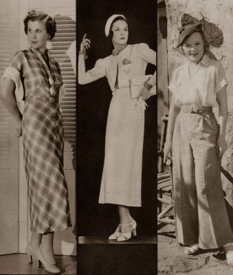 1930s-Fashion---Hollywood-Tries-White-Magic-for-Summer-1934c