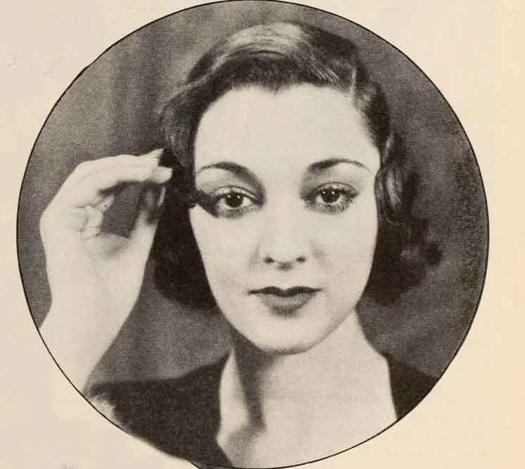 instyle hair styles 1933 shop eye makeup styles for types daze 1933 | 1933 Beauty Shop Eye makeup styles for Types Kathleen Burke