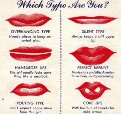 1940s-lip types