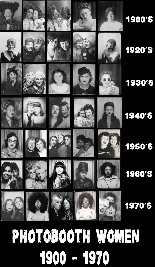 Photobooth Selfies -Women---1900-to-1970