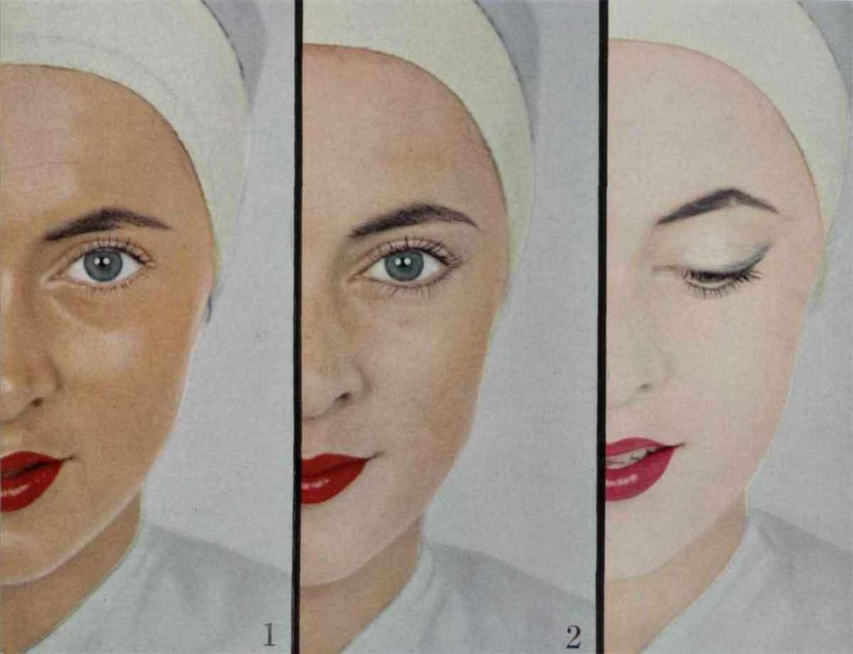 One Woman – Three 1950's Makeup Looks – Elizabeth Arden ...