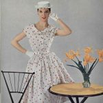 The Top Paris Designer Dresses of 1954