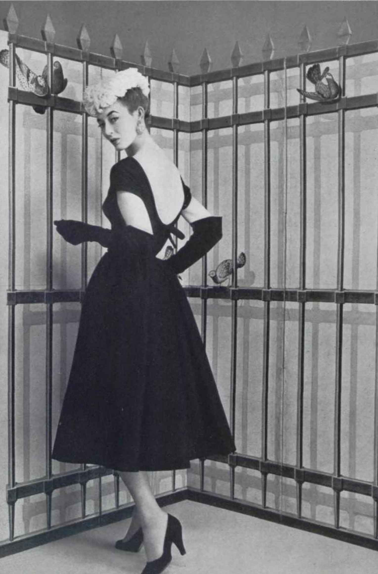 The Top Paris Designer Dresses Of 1954 Glamour Daze