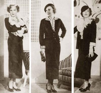 1930s Fashion Autumn Dress Styles For 1934 Glamour Daze