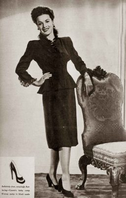 1940s-Fall-Fashions---Maureen-O-Hara