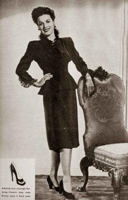 1940s Fall Fashions – Maureen O Hara 1943 | Glamourdaze