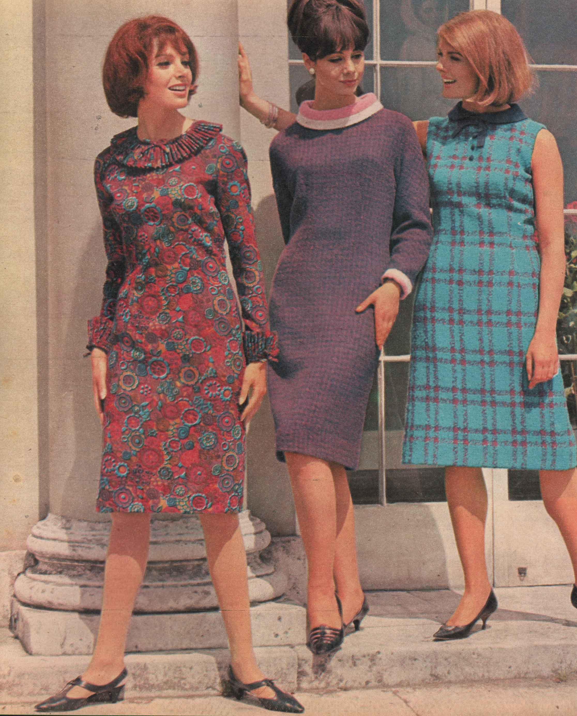 Fashion week 1960 Early fashion for girls