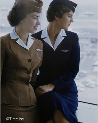 Airline-Stewardess-Essay-1958----Peter-Stackpole---Google-Cultural-Institute