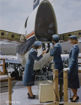Airline-Stewardess-Essay-1958----Peter-Stackpole---Google-Cultural-Institute2