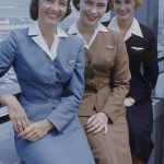 Glamour Girls of the Air – Air Stewardess School 1958