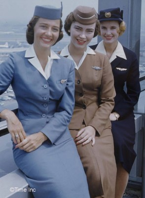 Glamor-Girls-of-the-Air---Life-Magazine-1958---Stewardess-school-9