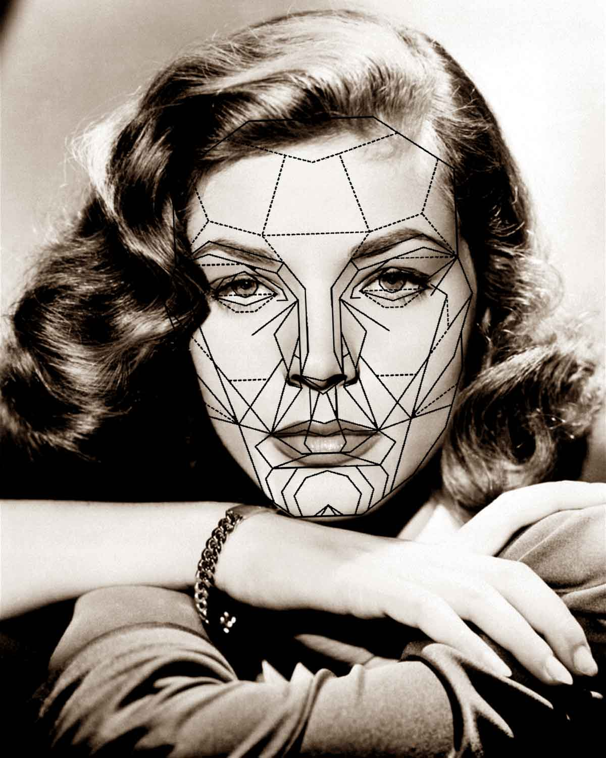 Laurenbacalla Face With The Golden Ratio Of Beauty