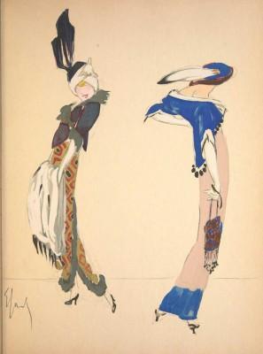 Robes-et-Femmes----1913-Satirical-Fashion-Book