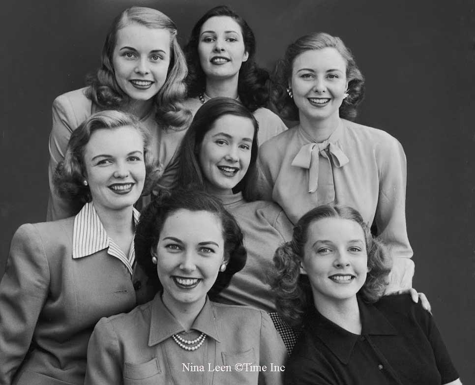 The American Look Of 1945 By Nina Leen Glamour Daze