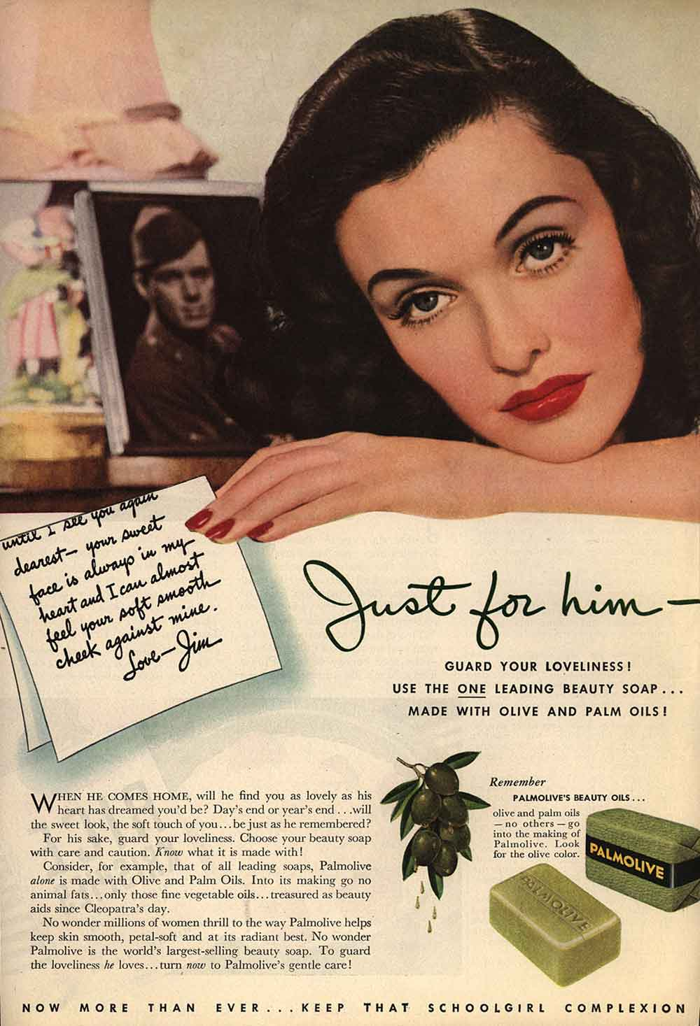1940 - Five Steps to Winter Beauty | Glamour Daze