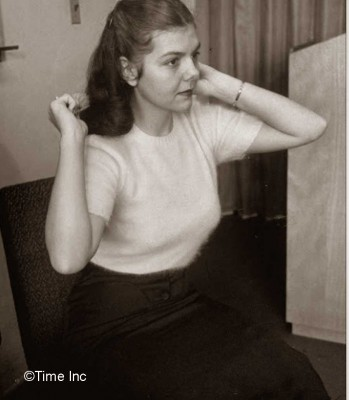 1951-Model-Secretary-look--Hair---Life-Magazine