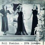 1930s Autumn Fashion – Window Shopping in 1936