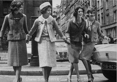 Chanel-suits-in-1961-Paul-Schutzer