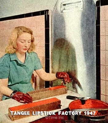 The Tangee Lipstick Factory - 1947
