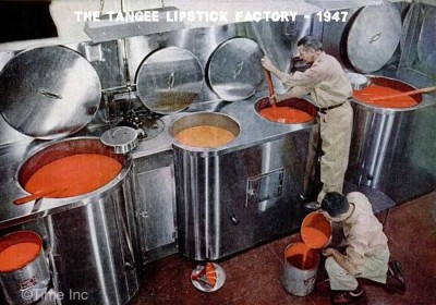 The Tangee Lipstick Factory - 1947 c