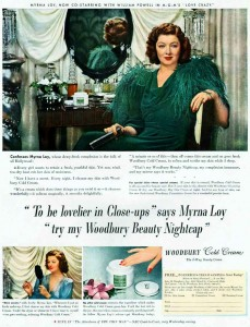 Woodbury-cold-cream---Myrna-Loy-1941