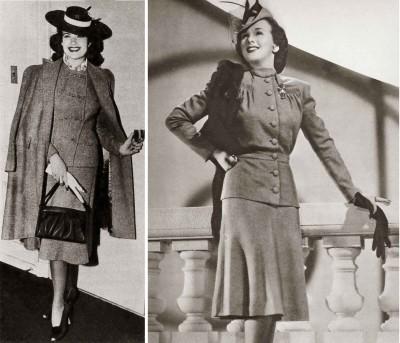 three-piece-suit---tweed---1941-fashion