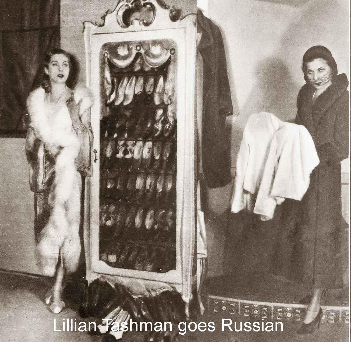 1930 Fashion – Winter Styles Turn Russian