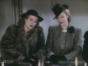 Fashion during the Blitz - Technicolor film by Jack Cardiff