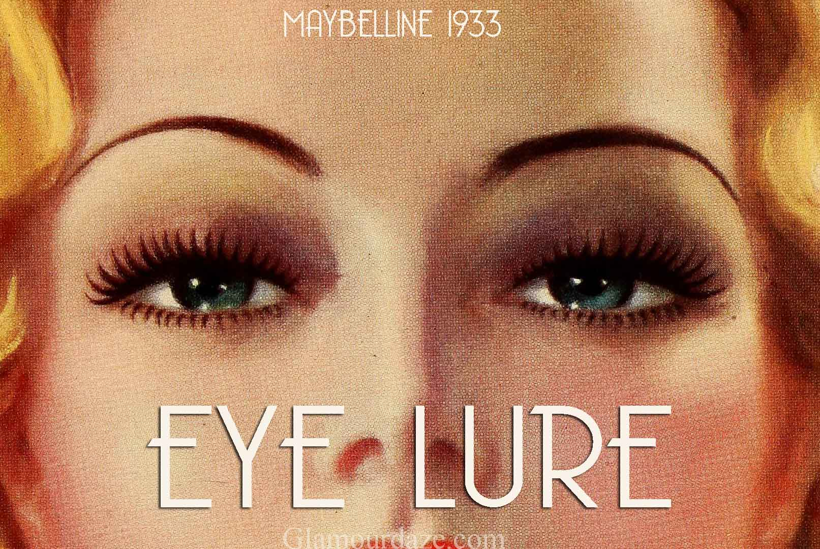 1930s Hollywood Eyes! u2013 Makeup Tips. : Glamourdaze