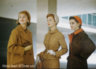 New York Style in 1954 - by photographer Nina Leen