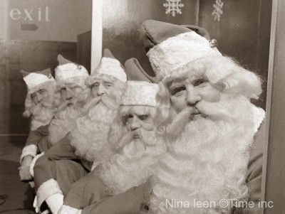 Christmas-1948---Macys-New-York---Santa-land