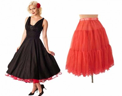 Classic-Dame-Black-Sateen-Class-Act-50s-Style-Party-Dress