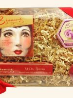 Crimson-Rouge---1930s-Mascara---Brightening-Violet-Powder-&-Mirror-Set