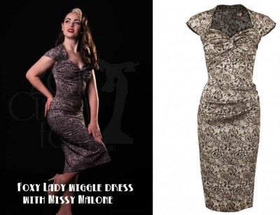 Foxy-Lady-wiggle-dress---20th-Century-Foxy