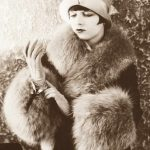 Hollywood stars step out in furs for Christmas – 1928