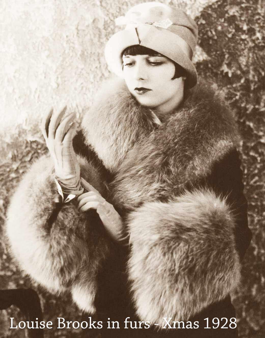 Louise-Brooks---Christmas-Fur-Fashions-1928