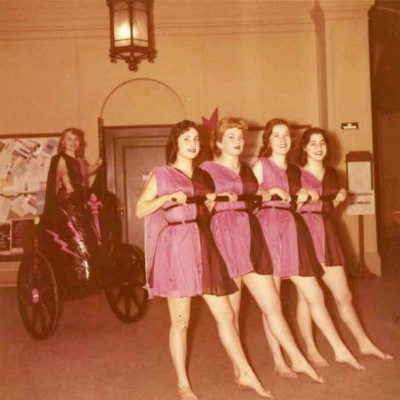 Barnard-College---Greek-Games-Chariot1957
