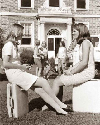 Radcliffe-girls- end of term 1968