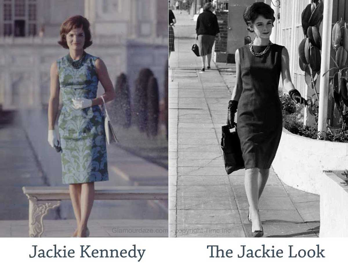 The Jackie Kennedy Look In Fashion 1961