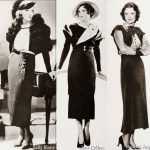 1930s Fashion – Hollywood Winter Frocks  -1934