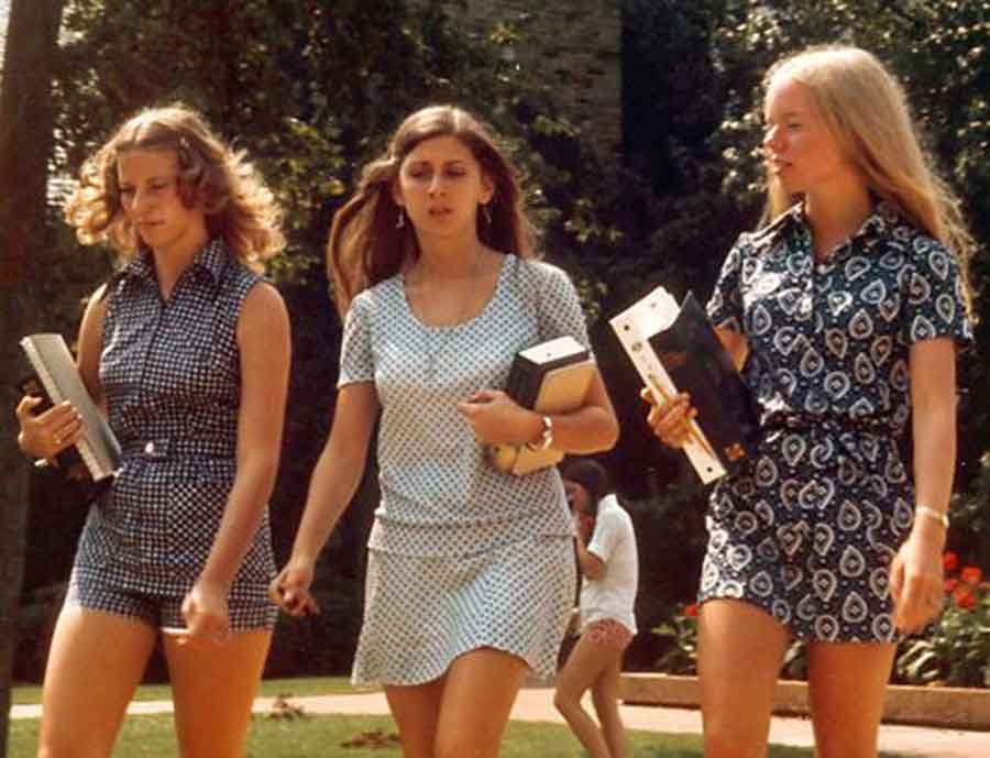 100 Years Of College Girl Fashion Glamour Daze