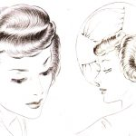1940s Hairstyles – The Sidesweep Craze of 1945